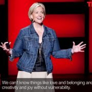 Brene Brown an authentic speaker