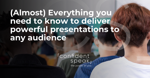 confident speak presentation mastery
